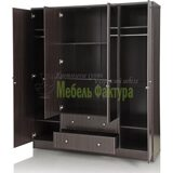royal-oak-berlin-wardrobe-four-door-with-dark-finish-mirror (2)