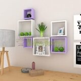 medium-density-fiber-mdf-square-shape-wall-shelf-set-of-six-white-purple-by-usha-us58